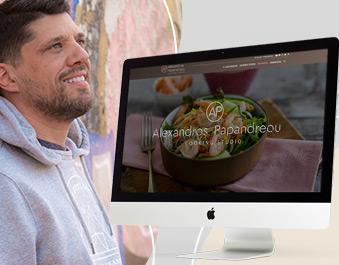 Αλέξανδρος Παπανδρέου κατασκευή νέου website